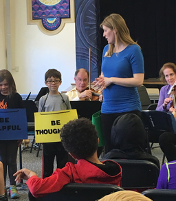 Philharmonic Visits Harman