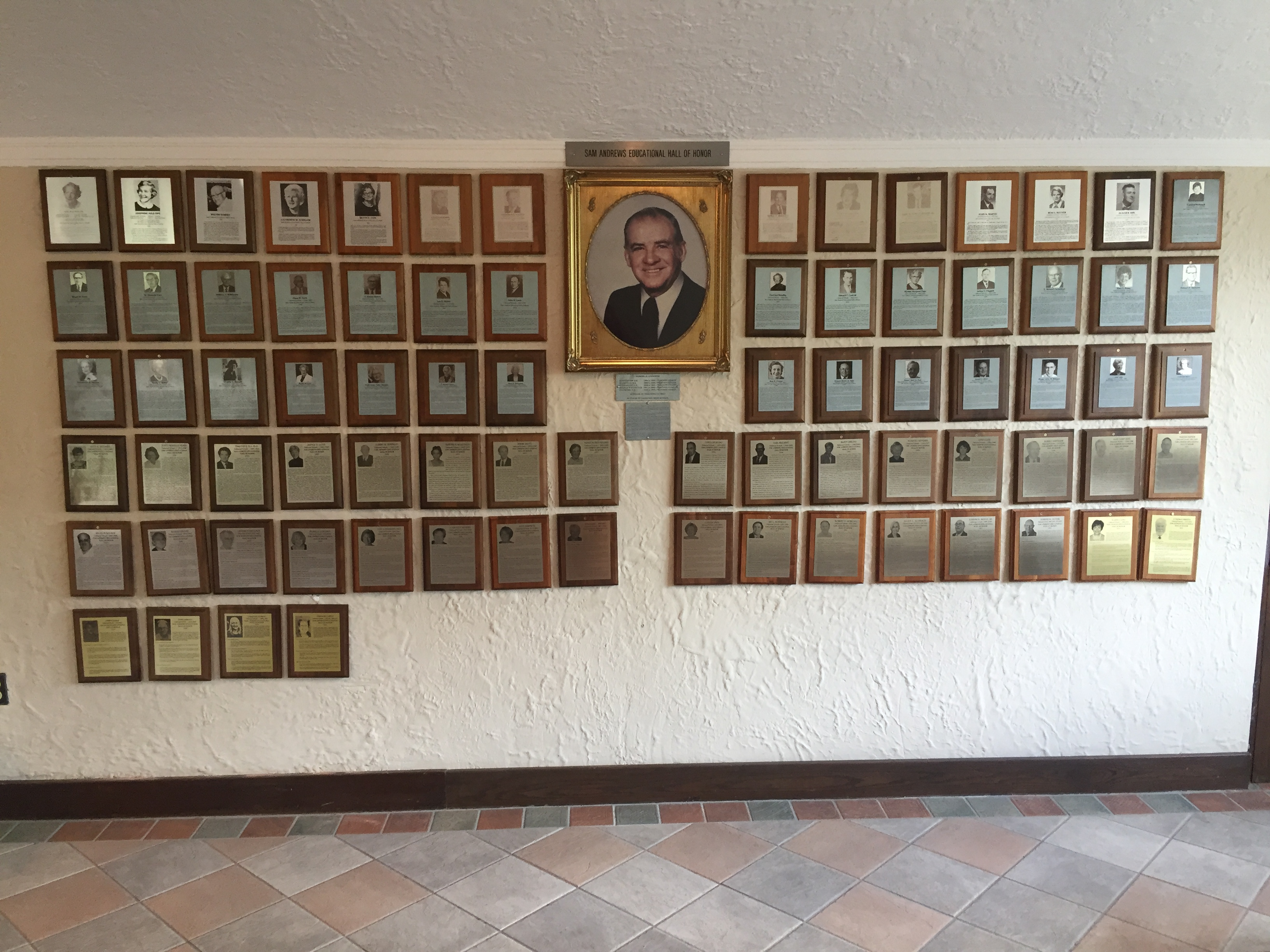 Sam Andrews Hall of Honor