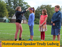 Trudy Ludwig participates in Fun Run 2017
