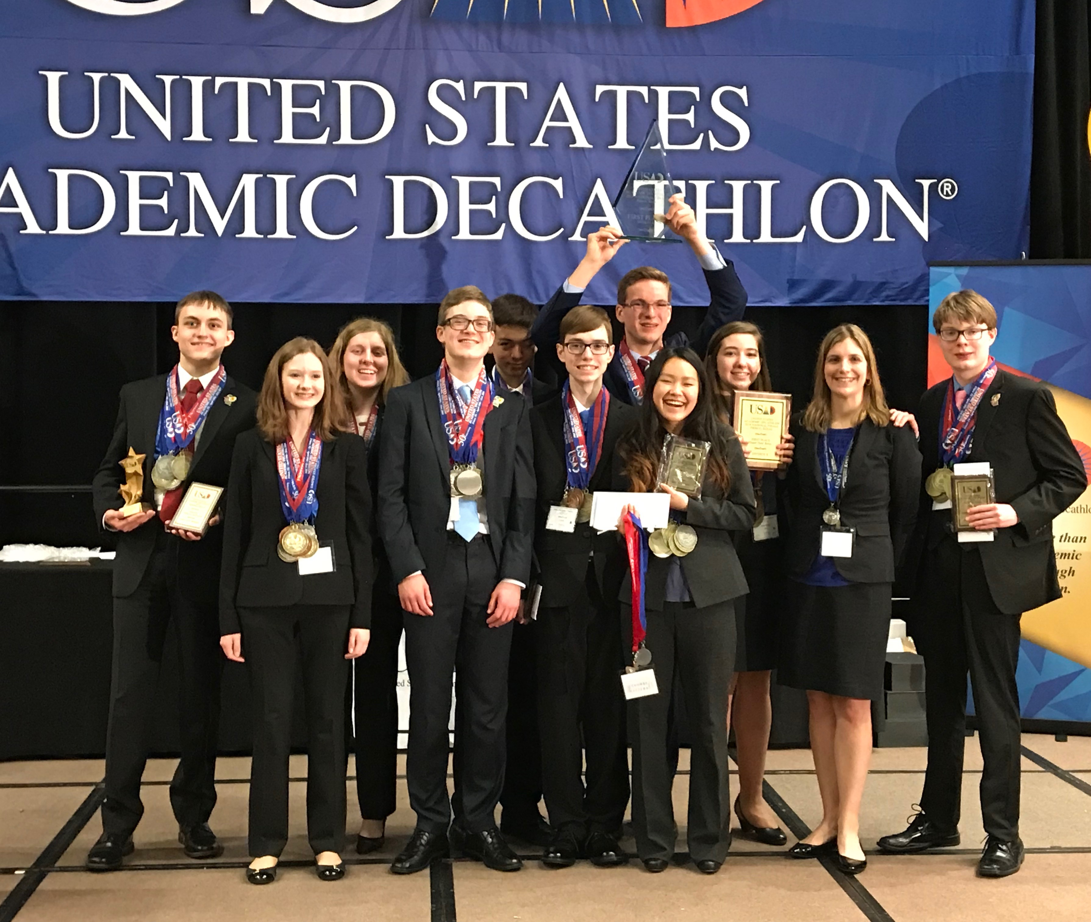 Academic Team celebrates 7th national title