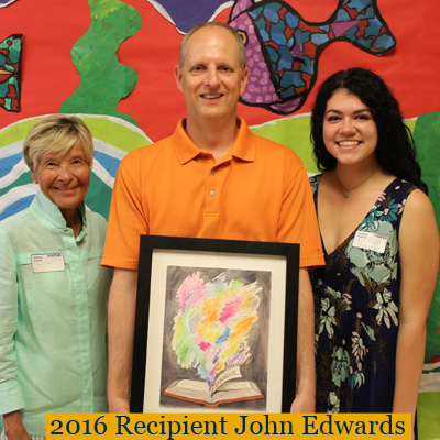 Winner of the 2016 Parker Love of Teaching