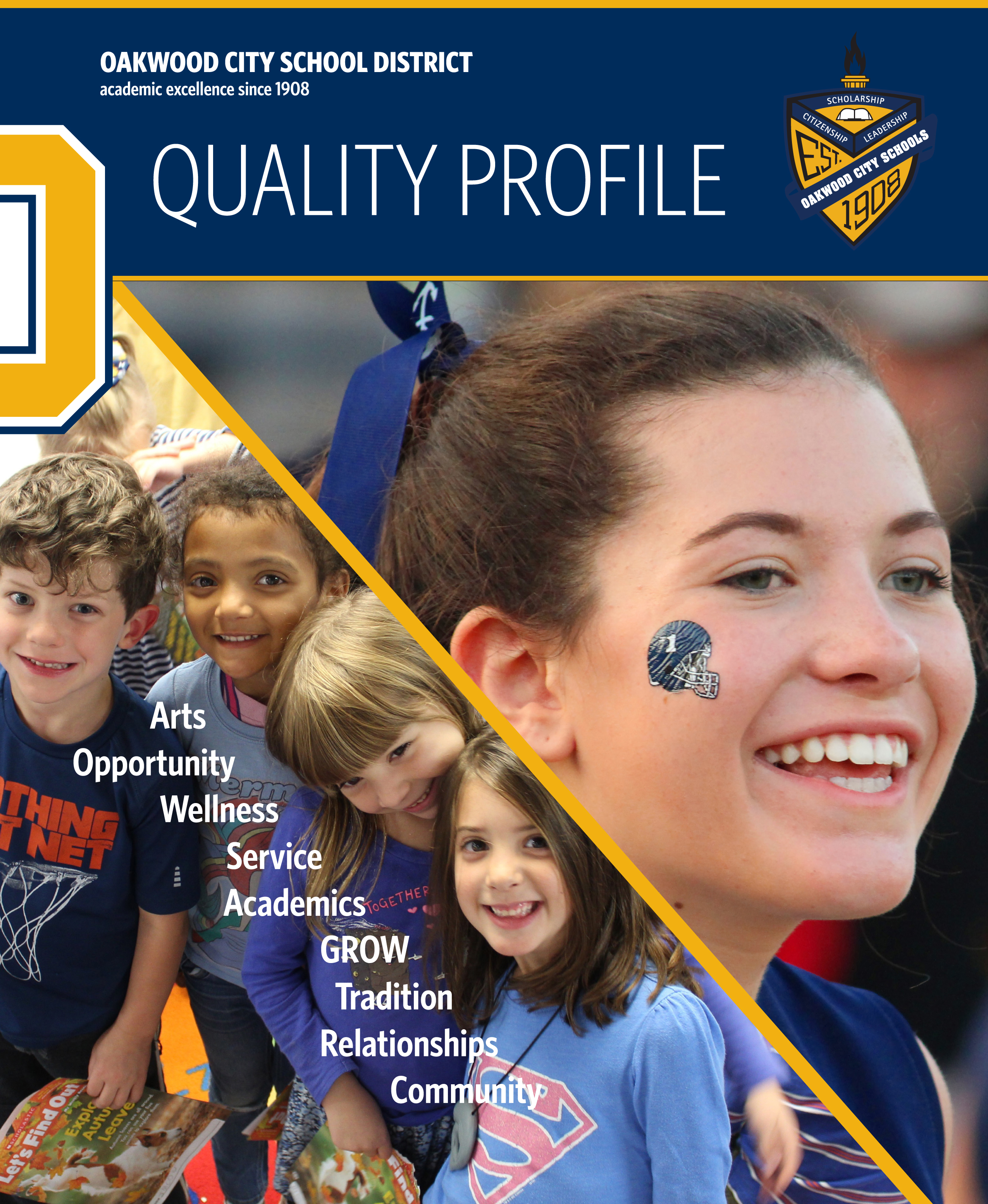 Cover of the 2018 Quality Profile