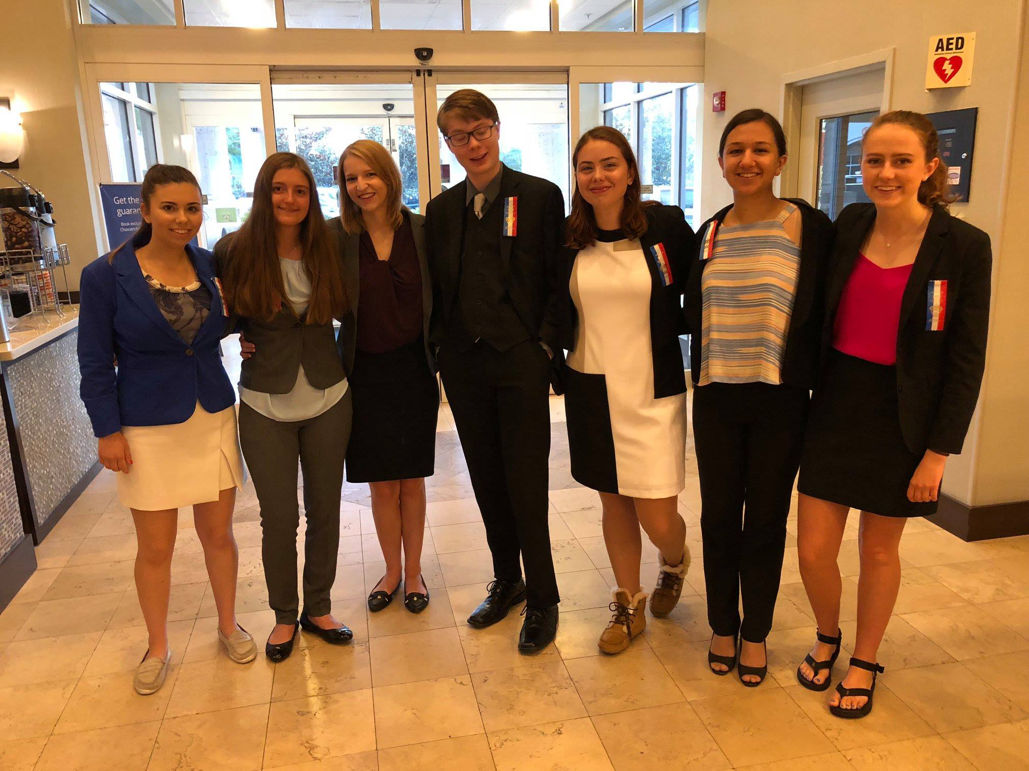 OHS qualifiers for the national speech and debate tournament